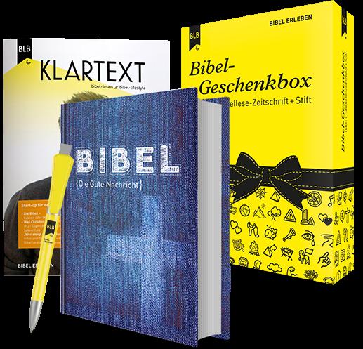 Bibel-Geschenkbox Edition Klartext
