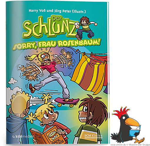 Der Schlunz-Comic: Sorry, Frau Rosenbaum!