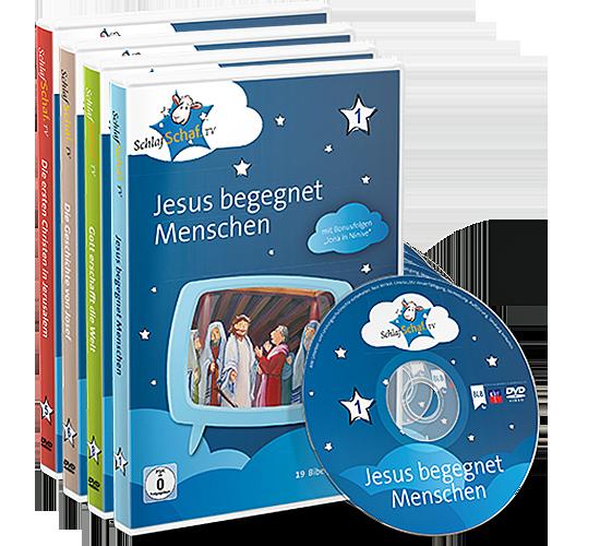 SchlafSchaf TV: Paket 1 (4 DVDs)
